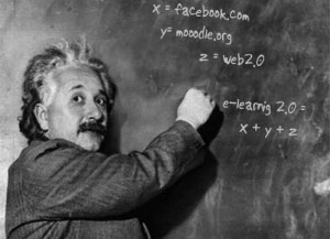 Moodle is e-learning 2.0 volgens Einstein