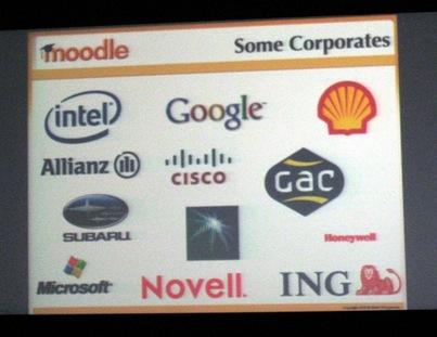 Multinationals die Moodle gebruiken