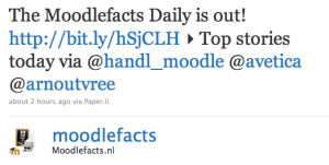 Nieuwe krant: The Moodlefacts Daily