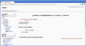 BigBlueButton integratie voor Moodle 2.0