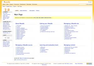 Moodlepedia, de nieuwe versie van Moodle Docs