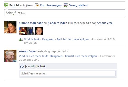 Inloggen op Moodle met Facebook account