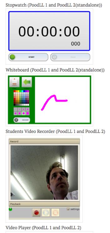 Gebruik PoodLL voor audio en video recording
