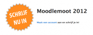 Inschrijving Moodlemoot 2012 is geopend!