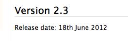 Nog 7 dagen wachten op release Moodle 2.3