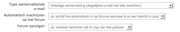 Moodle forum gebruiken om intern mailverkeer te reduceren