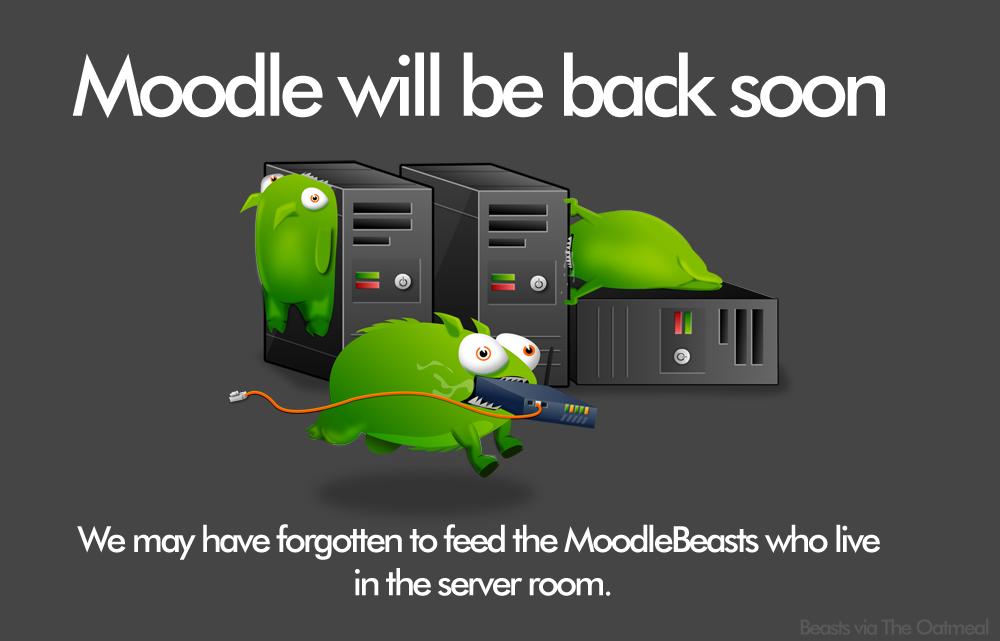 Moodle 404 Error