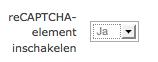 ReCAPTCHA inschakelen in Moodle