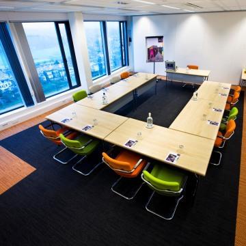 vergaderen in Arnhem bij WTC Arnhem