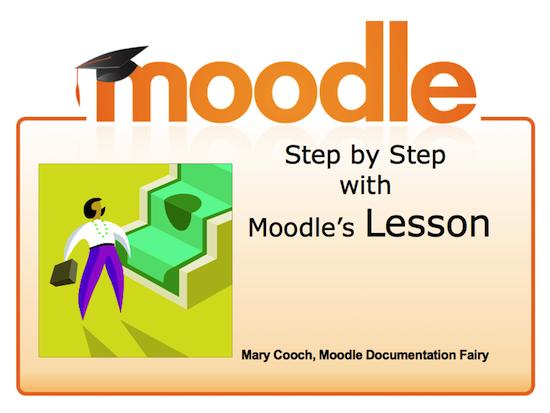 Stap voor stap Moodle lessen leren maken