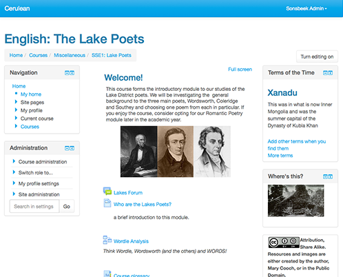 Twee responsive templates voor Moodle 2.7 and Bootstrap3