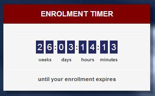 Hoeveel tijd heb ik nog in deze cursus?