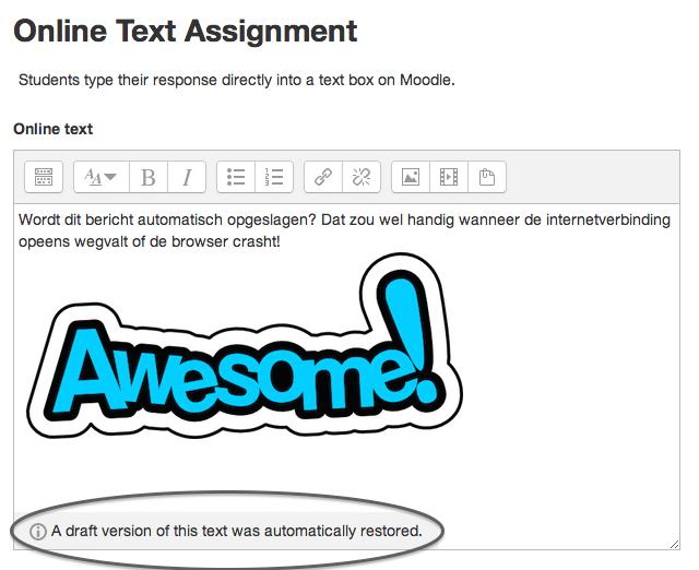 Automatisch opslaan in teksteditor