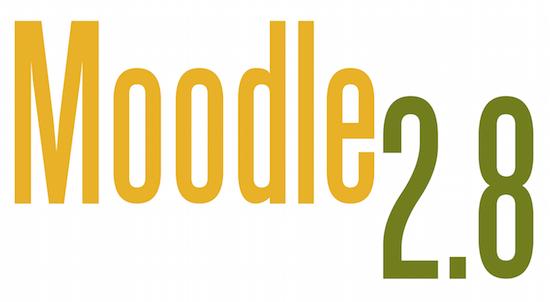 Moodle 2.8