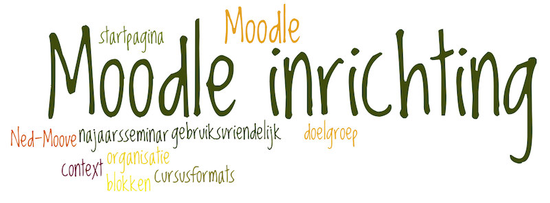 Najaarsseminar Ned-Moove over Moodle inrichting