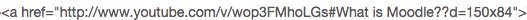 Embed code Youtube