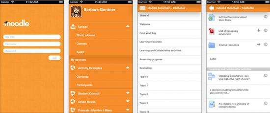 Moodle Mobile App in eigen huisstijl