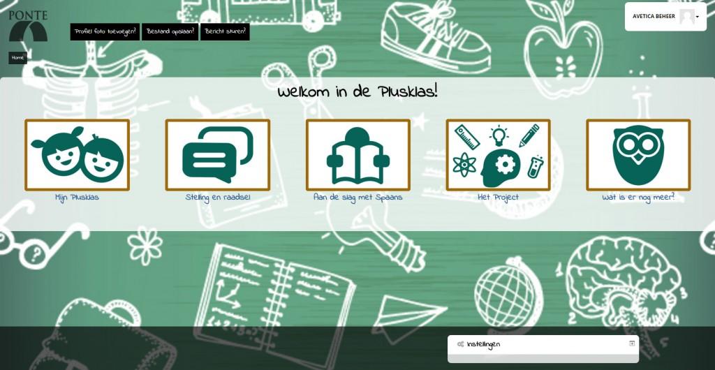 Plusklas: Custom template en inrichting