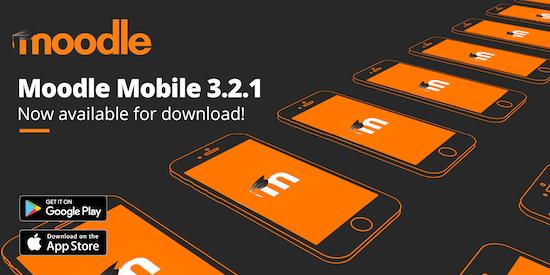 Minor release van Moodle Mobile 3.2.1