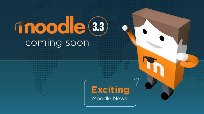 Moodle 3.3 één week uitgesteld