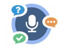 H5P nieuw content type 'Speak the words'