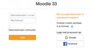 Moodle 3.3 zelf uitproberen?