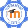 100% geslaagde testen Moodle 3.4