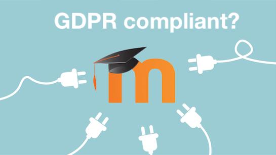 Moodle Privacy (7): GDPR behoorlijke impact voor alle plugins