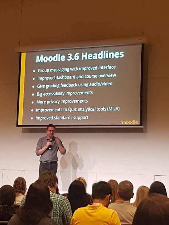 Release Moodle 3.6 gepland op 26 november 2018