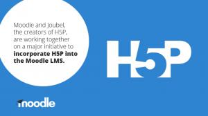 Moodle kondigt definitieve integratie H5P aan